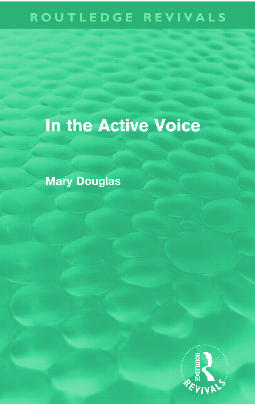 In the Active Voice (Routledge Revivals): 1st Edition (Paperback) book cover