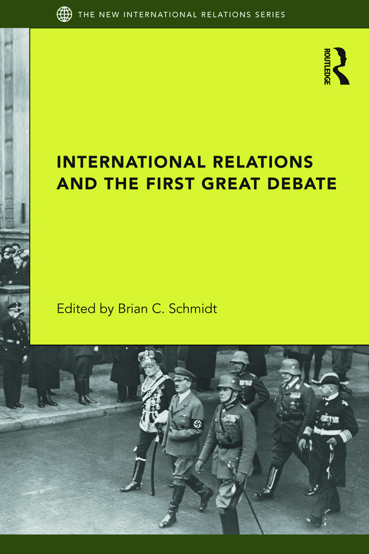 International Relations and the First Great Debate (Paperback) book cover