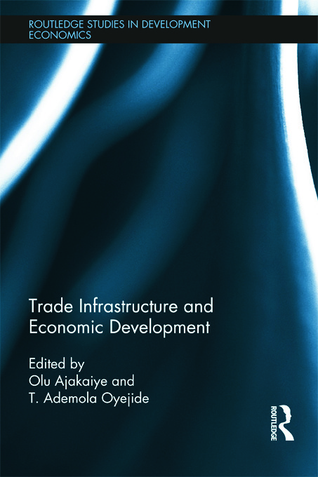 Trade Infrastructure and Economic Development (Hardback) book cover