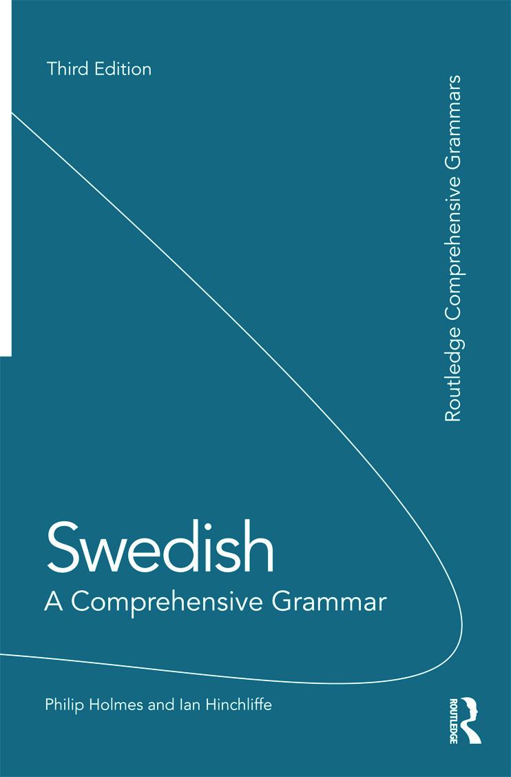 Swedish: A Comprehensive Grammar book cover