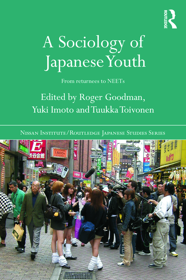 A Sociology of Japanese Youth: From Returnees to NEETs (Paperback) book cover