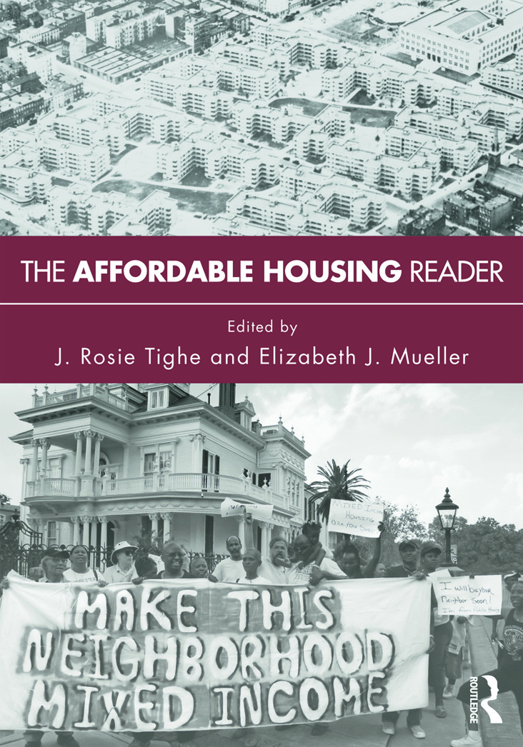 The Affordable Housing Reader: 1st Edition (Paperback) book cover