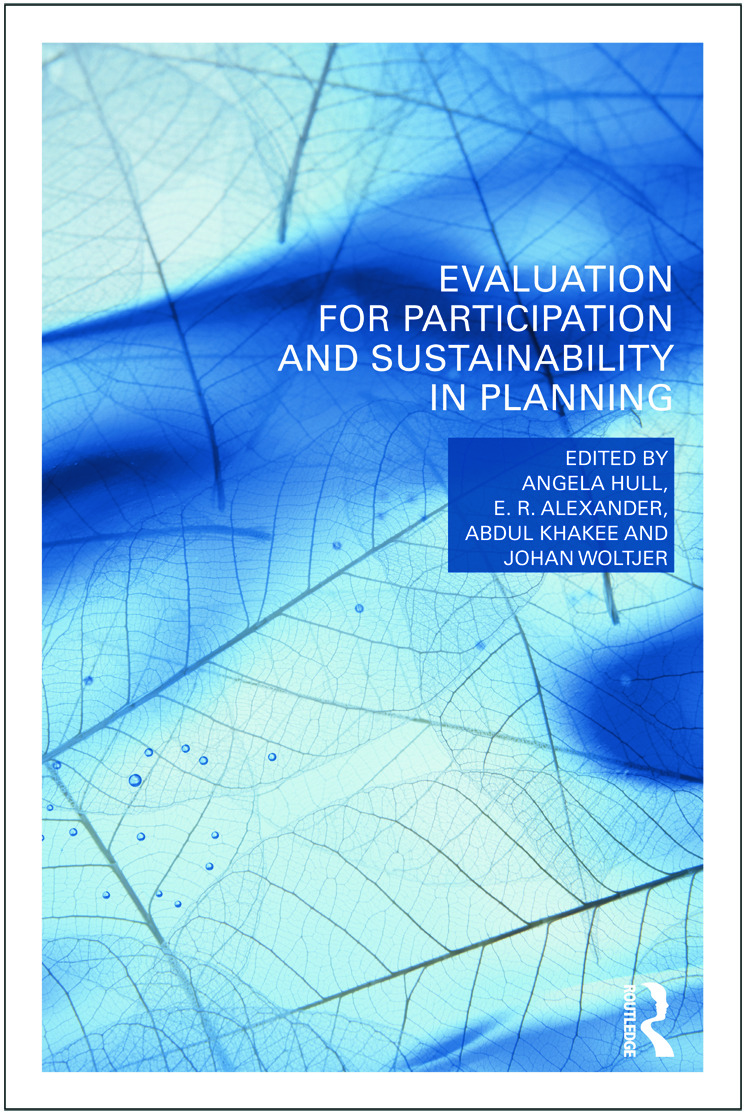 Evaluation for Participation and Sustainability in Planning: 1st Edition (Paperback) book cover
