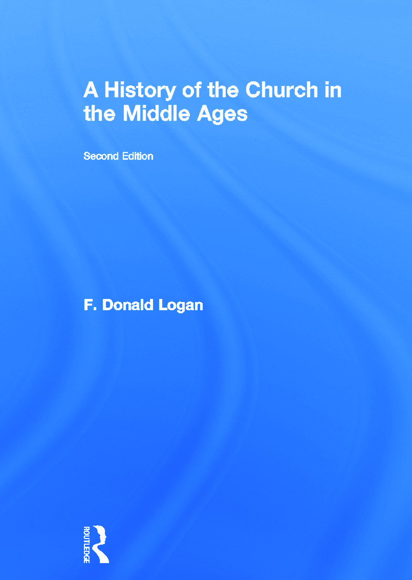 A History of the Church in the Middle Ages: 2nd Edition (Hardback) book cover
