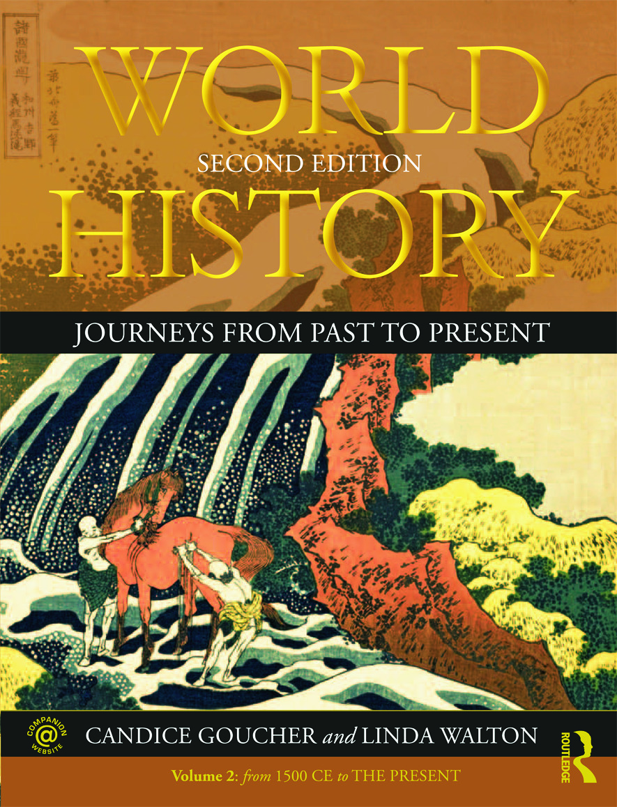World History: Journeys from Past to Present - VOLUME 2: From 1500 CE to the Present, 2nd Edition (Paperback) book cover