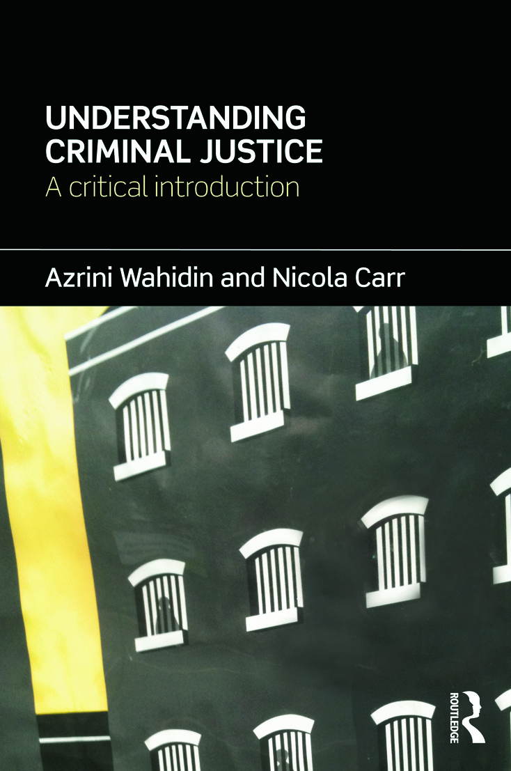 Understanding Criminal Justice: A Critical Introduction (Paperback) book cover