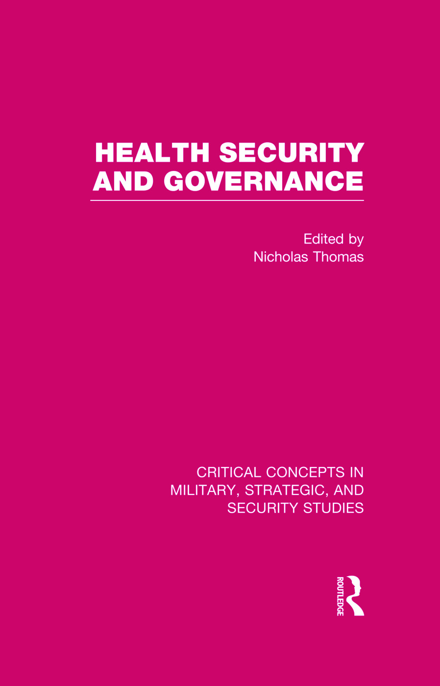 Health Security and Governance (Hardback) book cover
