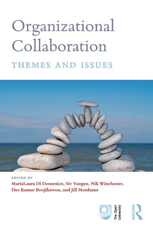Organizational Collaboration: Themes and Issues (Paperback) book cover