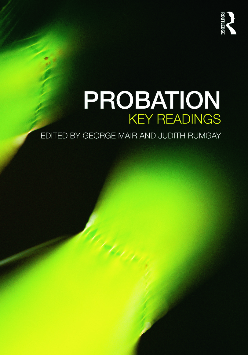 Probation: Key Readings book cover