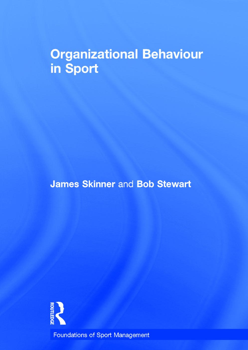 Organizational Behaviour in Sport book cover
