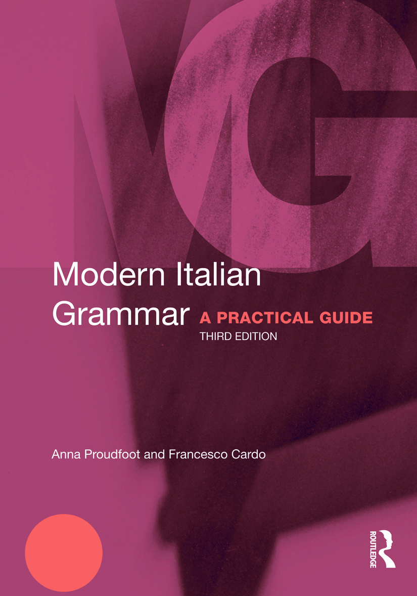 Modern Italian Grammar: A Practical Guide book cover