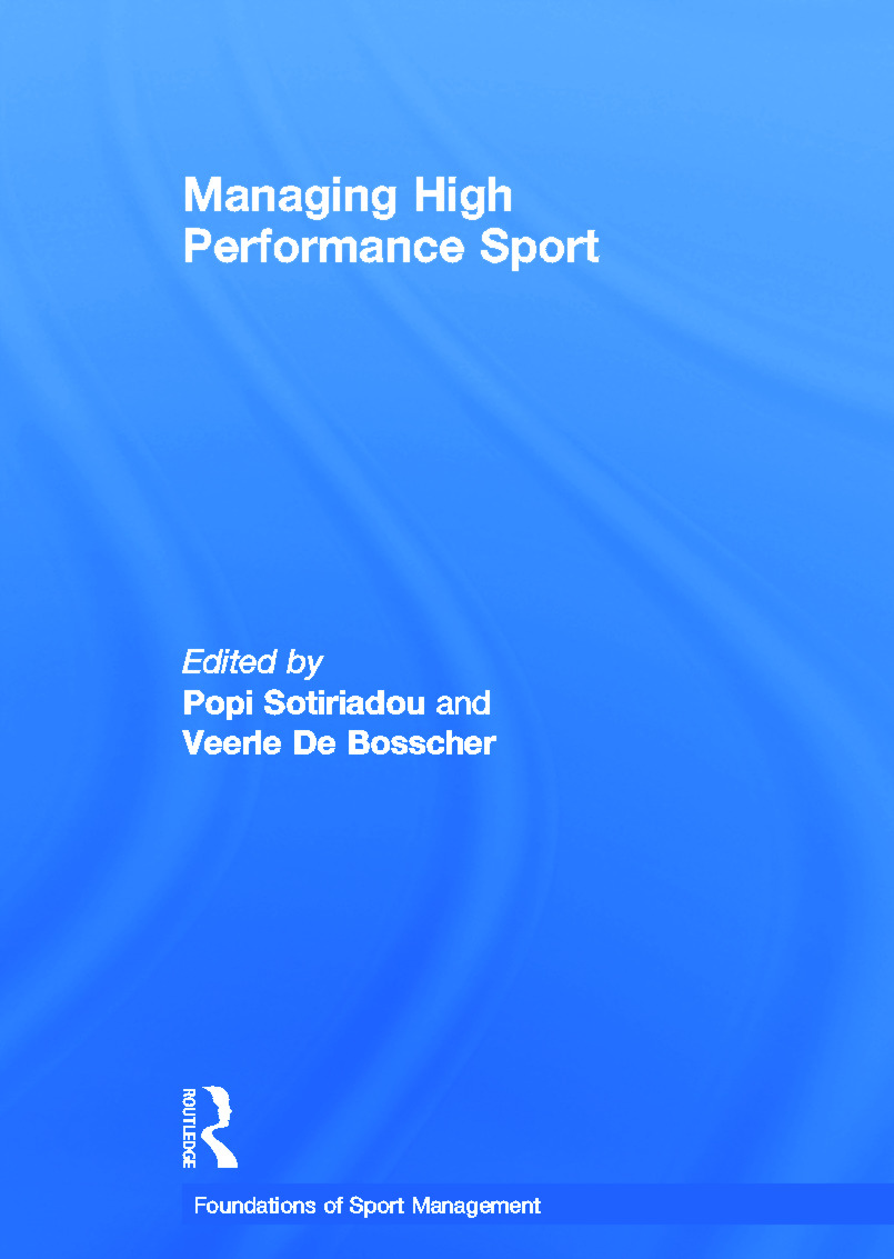 Managing High Performance Sport book cover