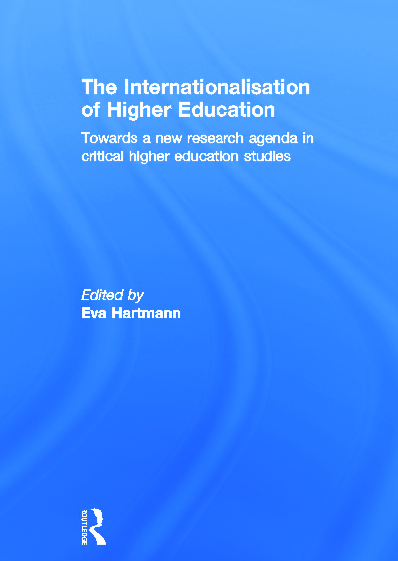 The Internationalisation of Higher Education: Towards a new research agenda in critical higher education studies (Hardback) book cover