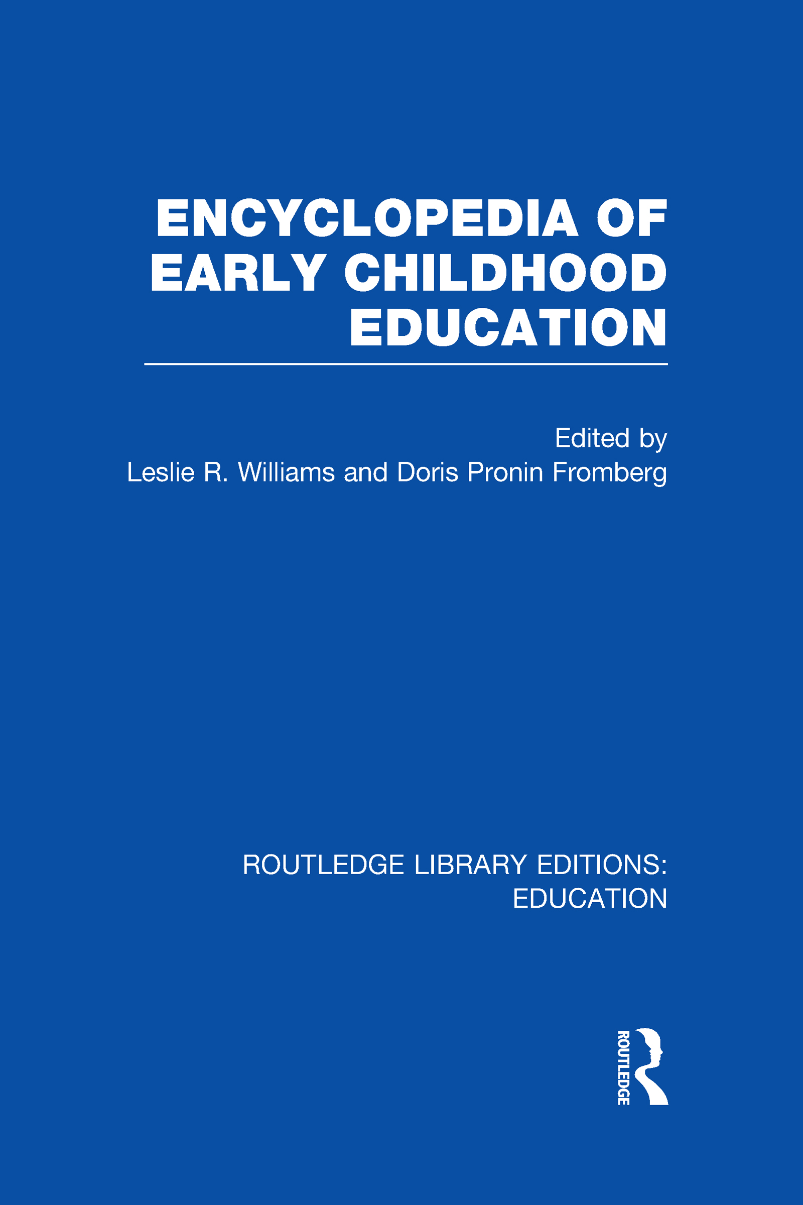 Encyclopedia of Early Childhood Education (Hardback) book cover