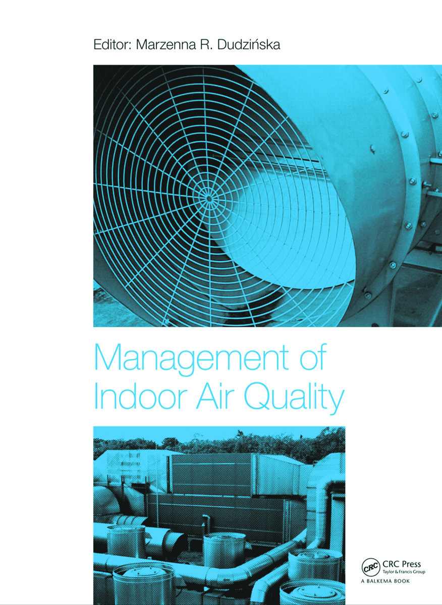 Management of Indoor Air Quality (Hardback) book cover