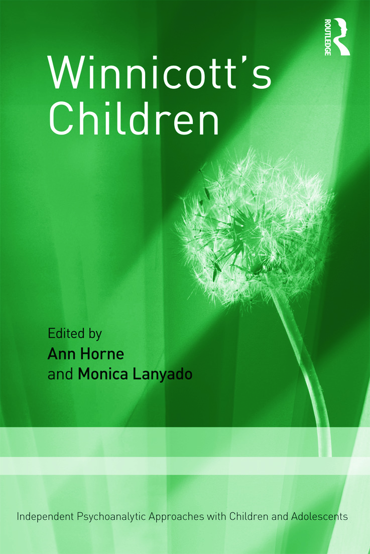 Winnicott's Children: Independent Psychoanalytic Approaches With Children and Adolescents (Paperback) book cover