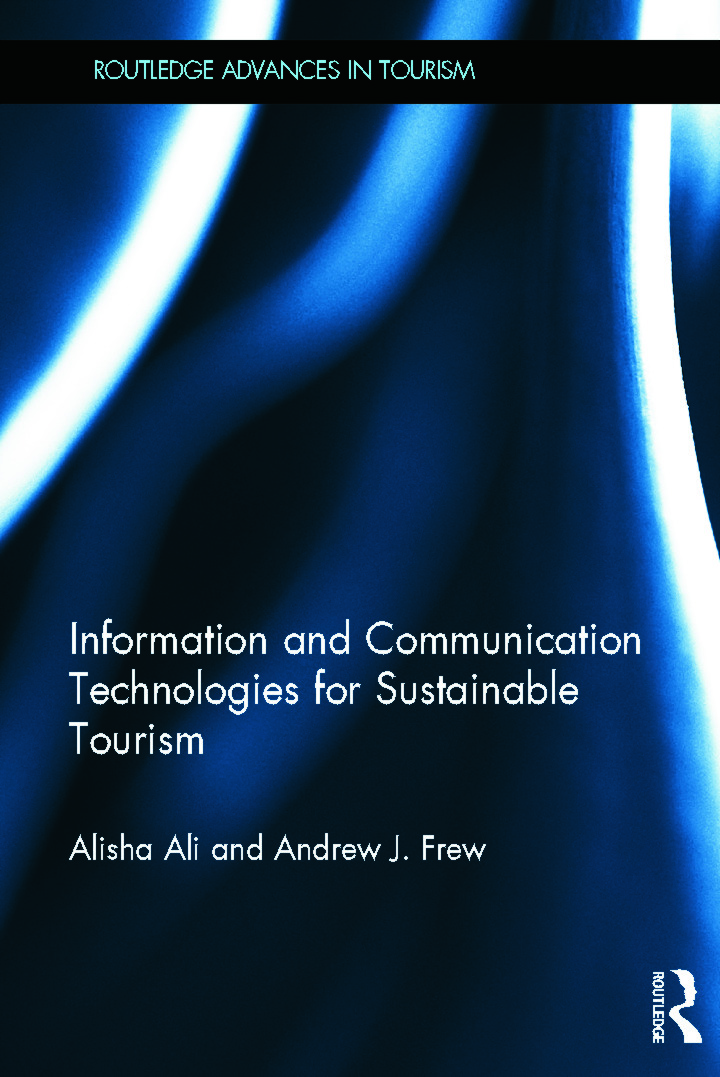 Information and Communication Technologies for Sustainable Tourism (Hardback) book cover