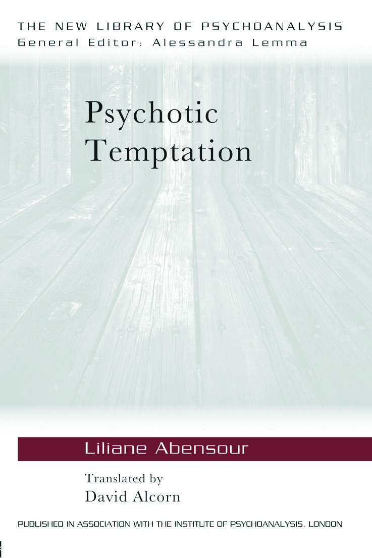 Psychotic Temptation (Paperback) book cover