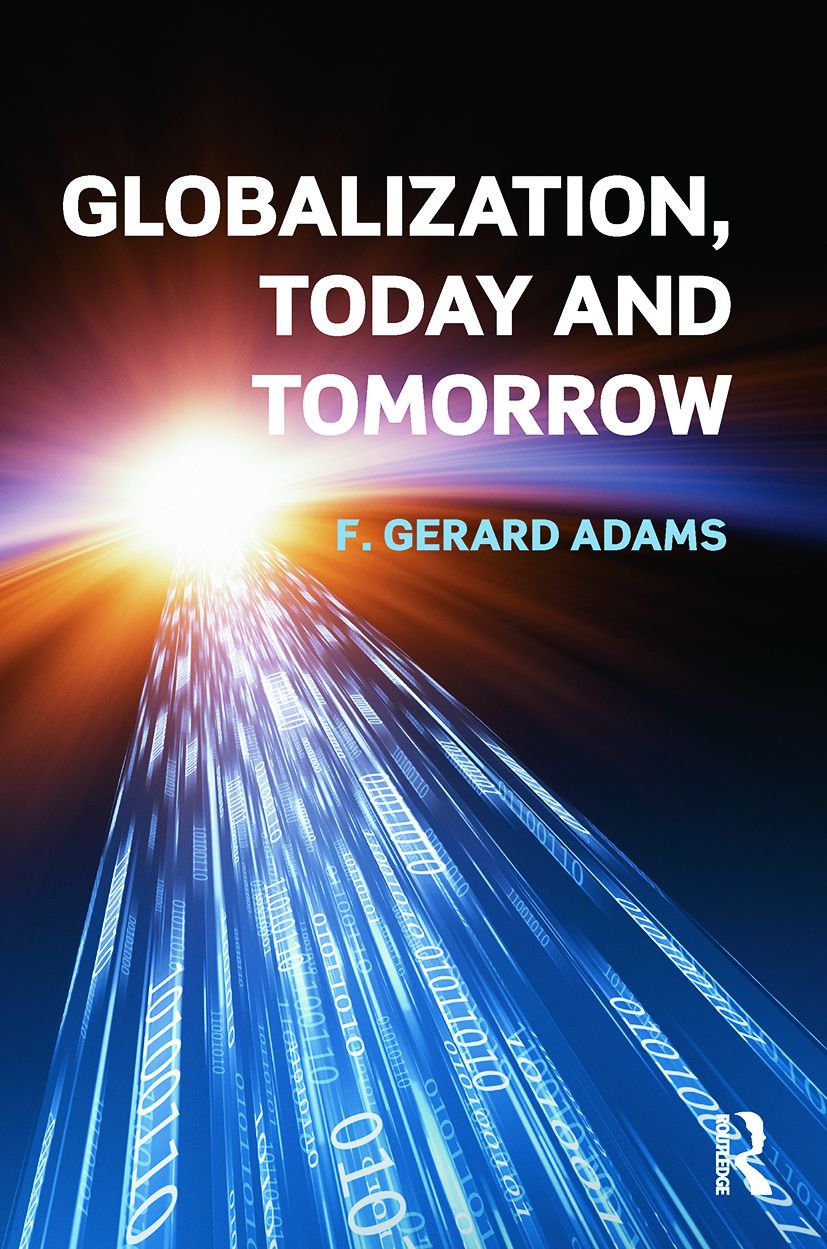 Globalization; Today and Tomorrow: 1st Edition (Paperback) book cover