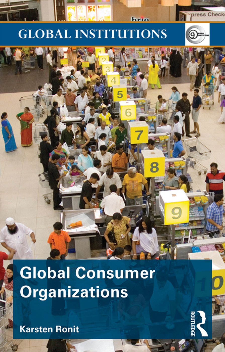 Global Consumer Organizations (Paperback) book cover