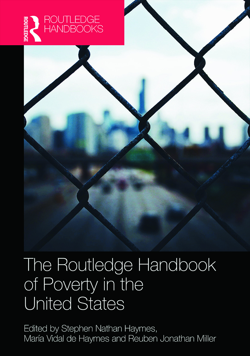 The Routledge Handbook of Poverty in the United States: 1st Edition (Hardback) book cover