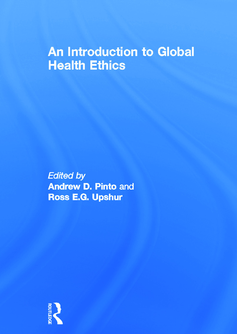 Ethics and global health