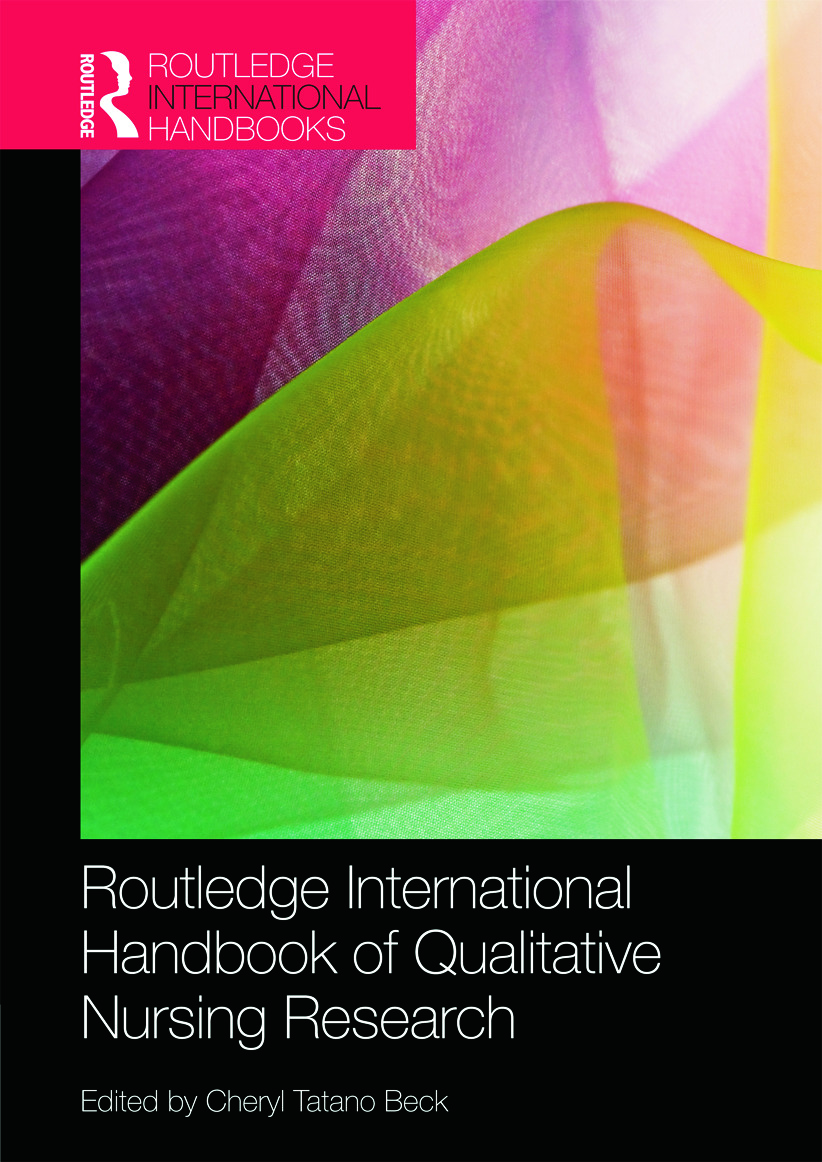 Routledge International Handbook of Qualitative Nursing Research book cover