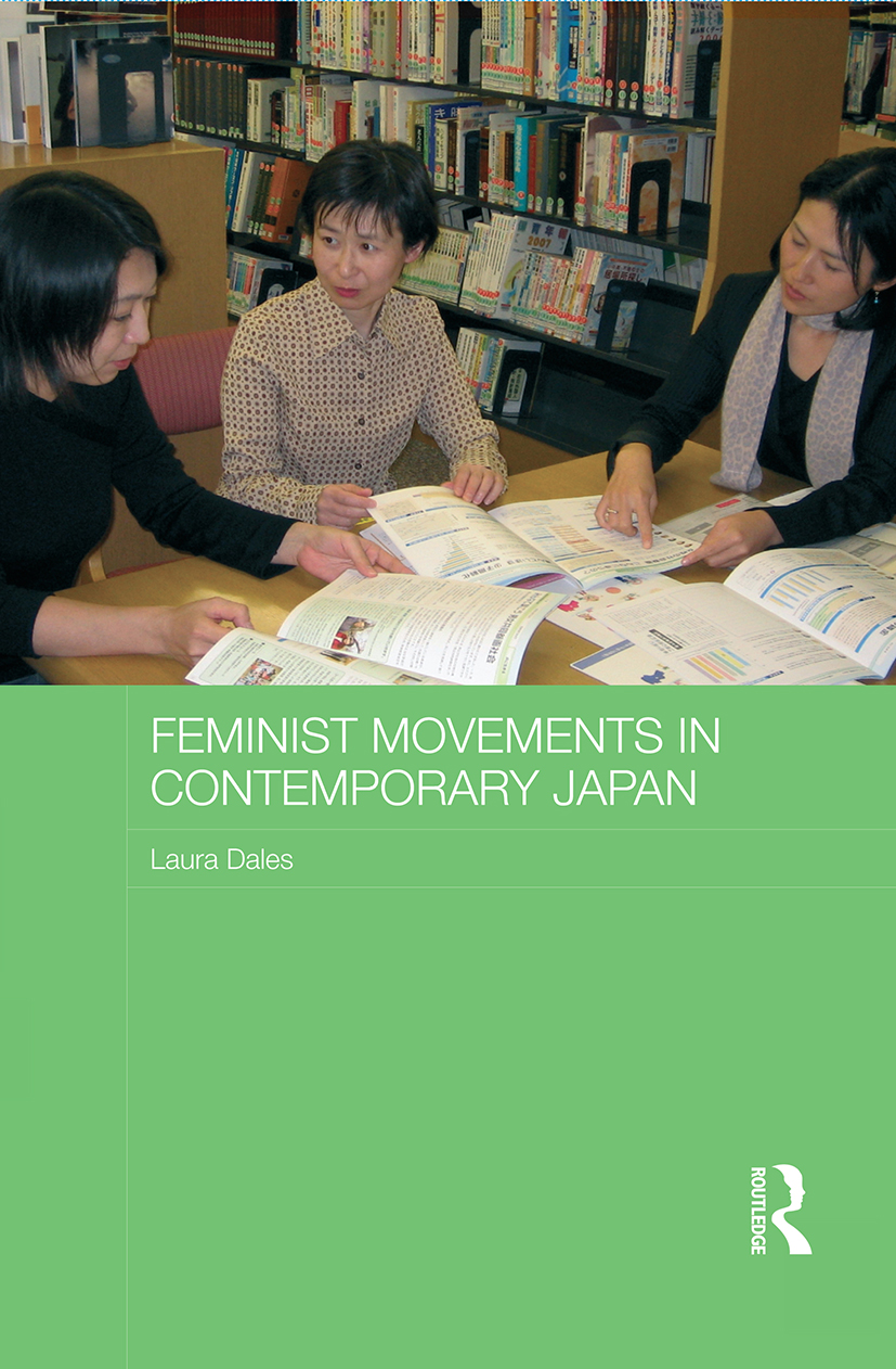 Feminist Movements in Contemporary Japan (Paperback) book cover