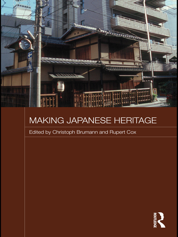 Making Japanese Heritage (Paperback) book cover