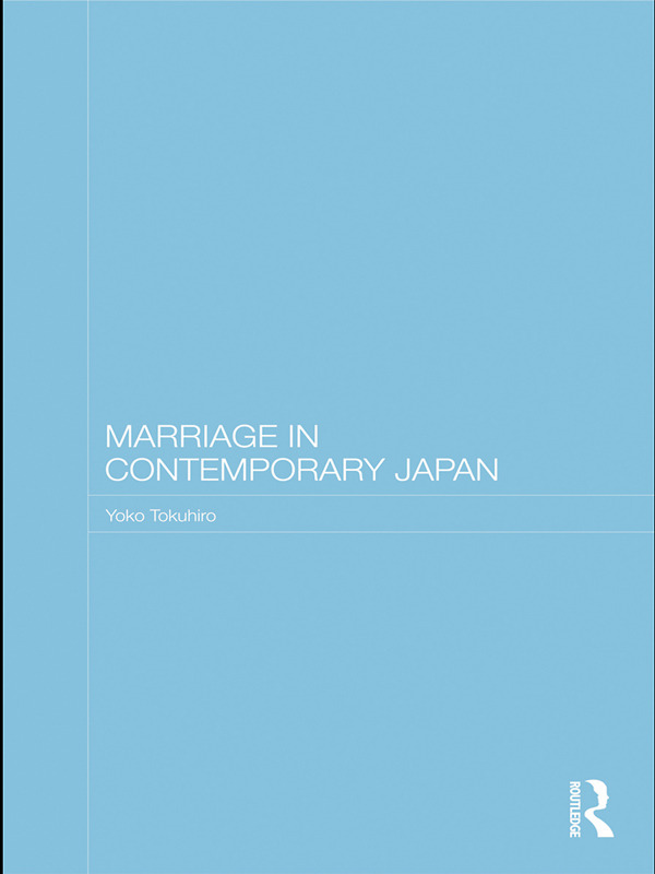 Marriage in Contemporary Japan (Paperback) book cover
