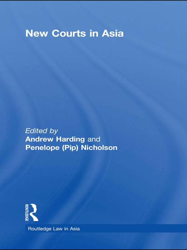 New Courts in Asia (Paperback) book cover