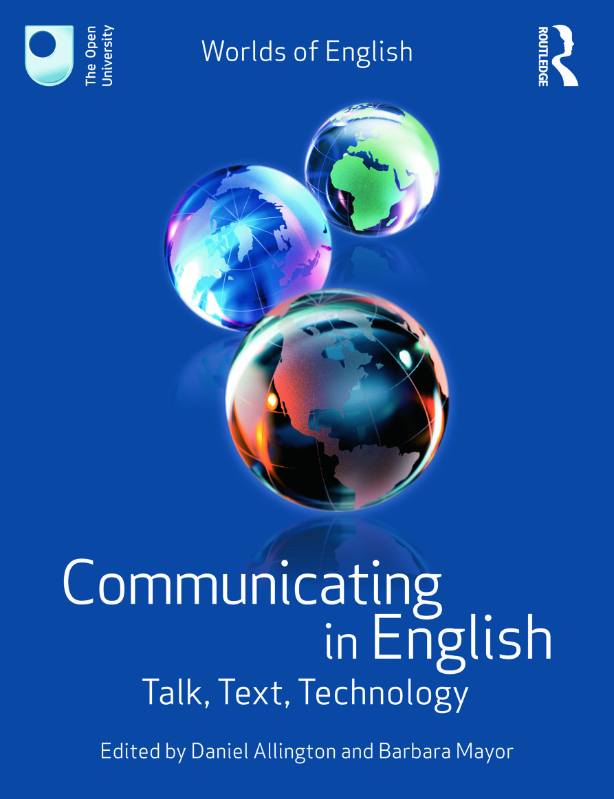 Communicating in English: Talk, Text, Technology (Paperback) book cover