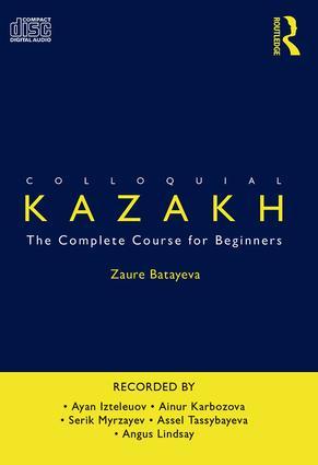 Colloquial Kazakh book cover