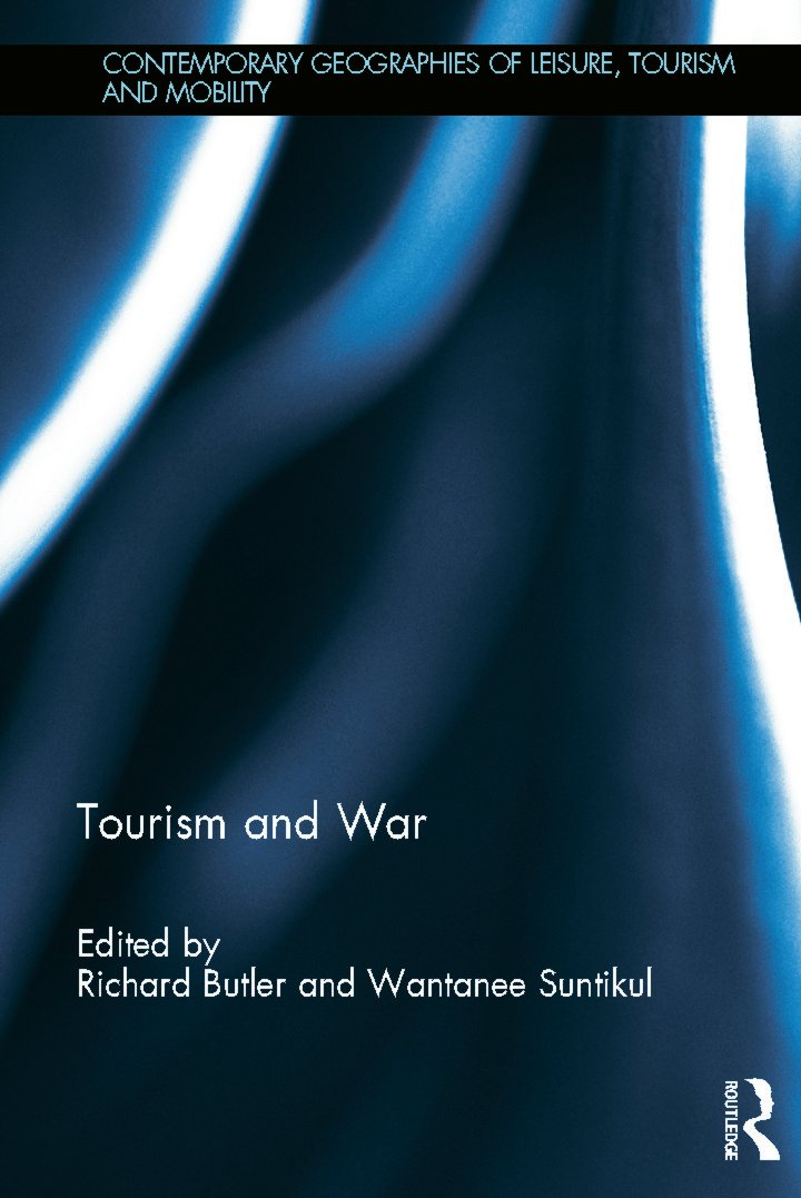 Tourism and War (Hardback) book cover