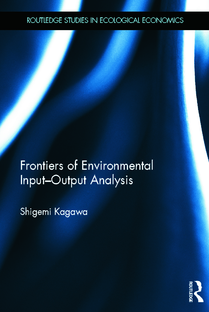 Frontiers of Environmental Input-Output Analysis book cover