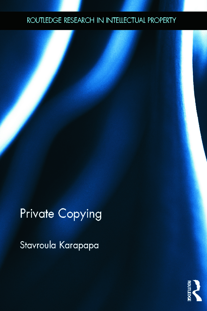 Private Copying (Hardback) book cover