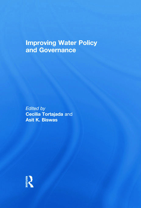 Improving Water Policy and Governance: 1st Edition (Paperback) book cover