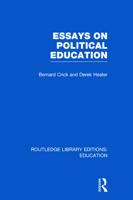 Essays on Political Education (Hardback) book cover
