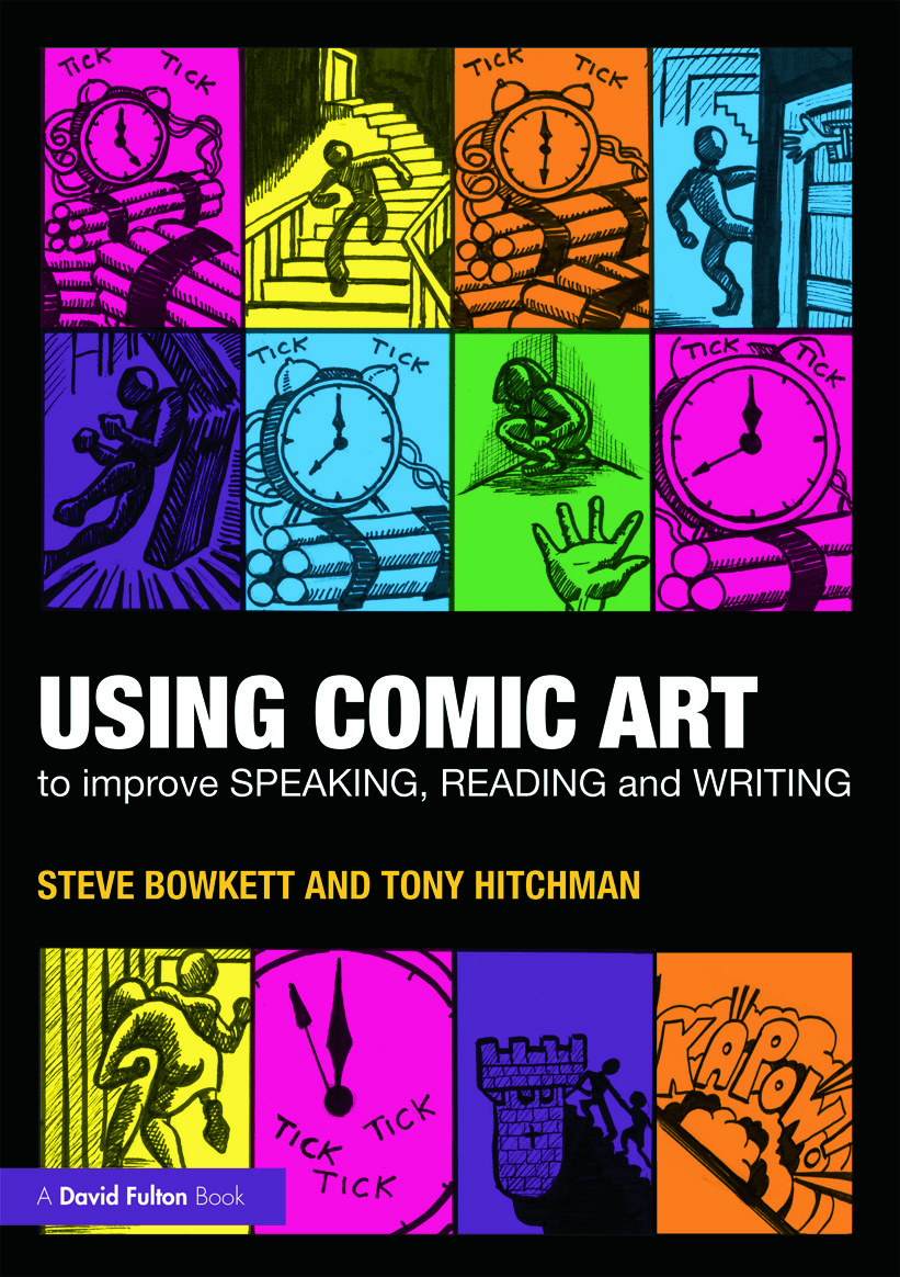 Using Comic Art to Improve Speaking, Reading and Writing (Paperback) book cover