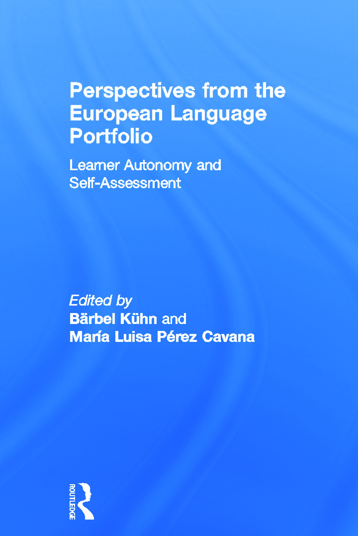 Perspectives from the European Language Portfolio: Learner autonomy and self-assessment, 1st Edition (Hardback) book cover
