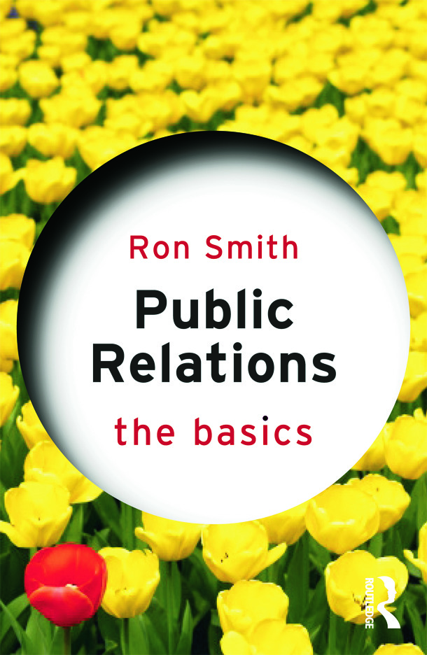Public Relations: The Basics (Paperback) book cover