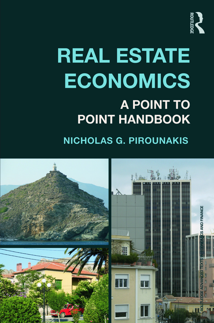 Real Estate Economics: A Point-to-Point Handbook book cover