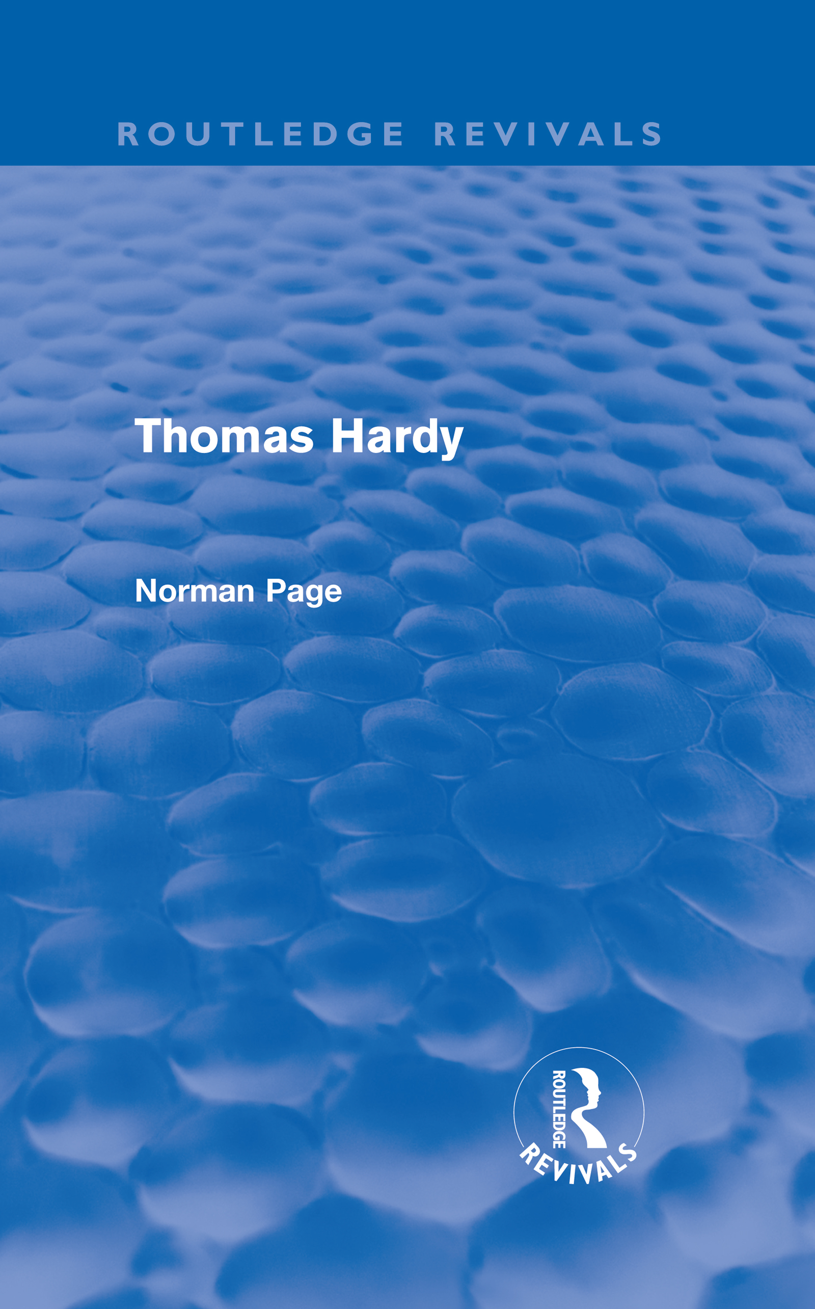 Thomas Hardy (Routledge Revivals) (Hardback) book cover