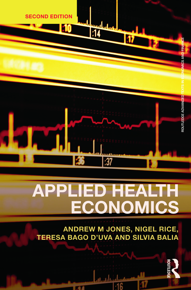 Applied Health Economics book cover