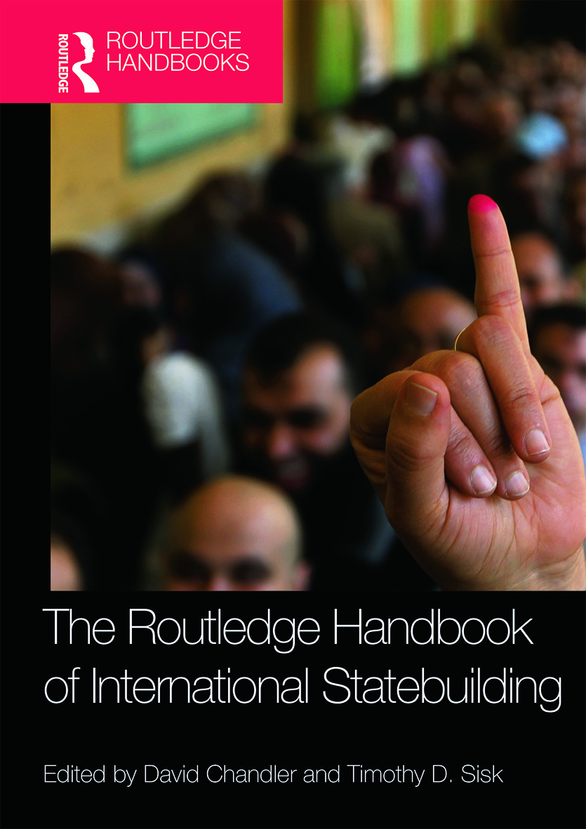 Routledge Handbook of International Statebuilding (Hardback) book cover
