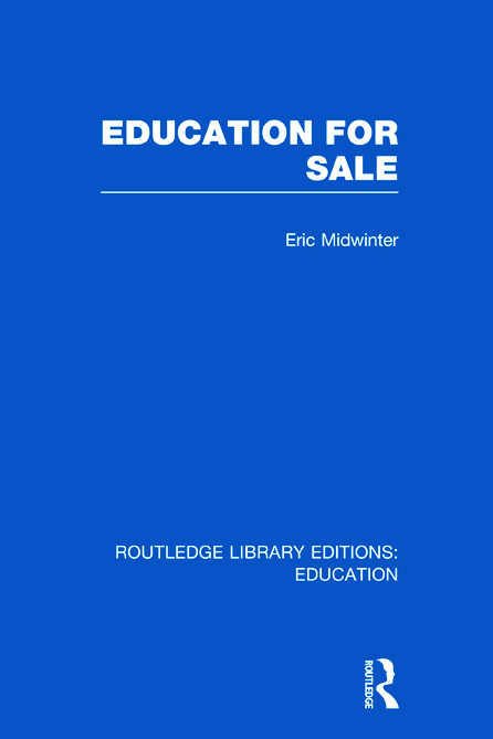 Education for Sale (Hardback) book cover