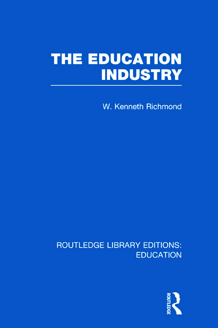 The Education Industry (Hardback) book cover