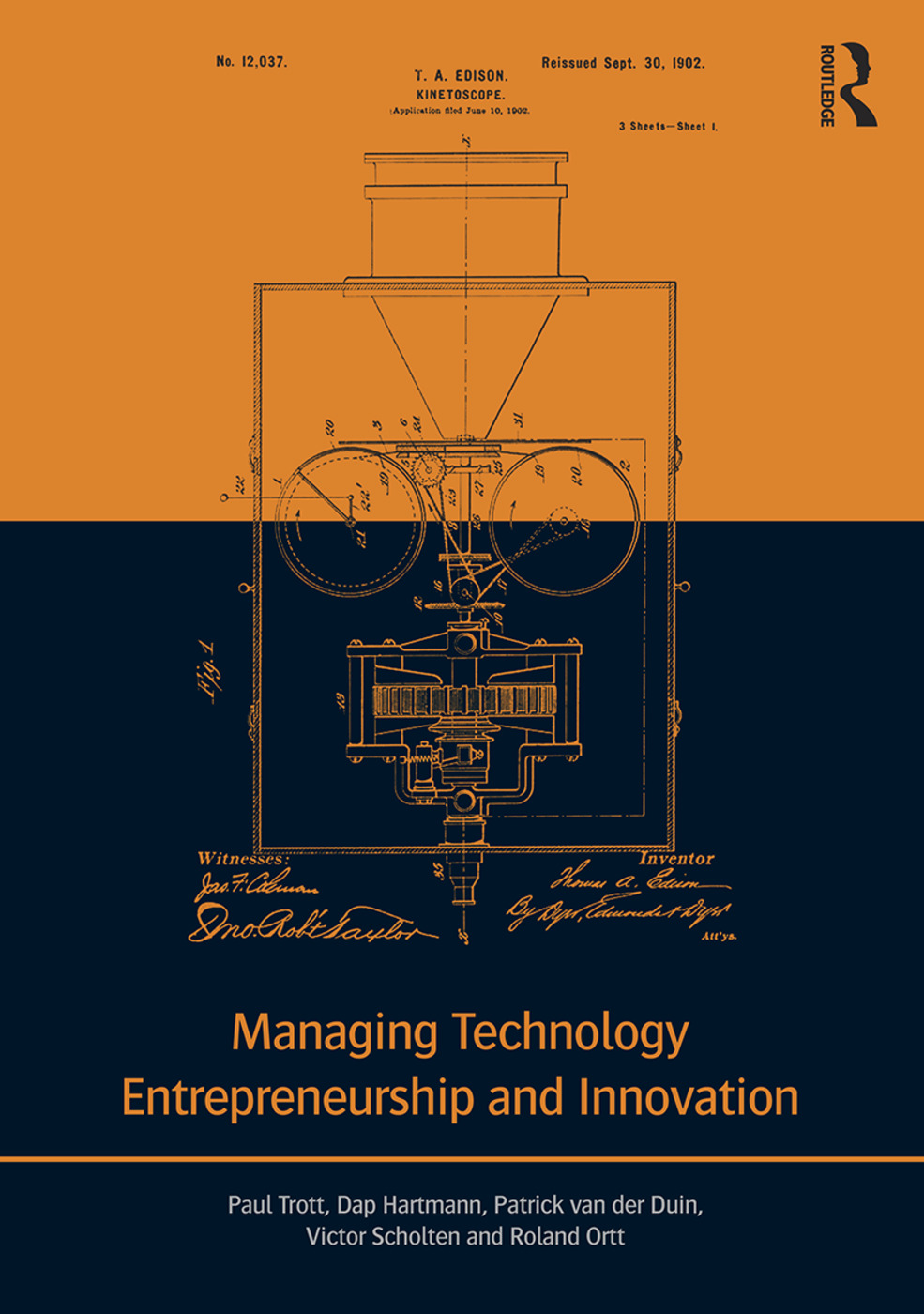 Managing Technology Entrepreneurship and Innovation (Paperback) book cover