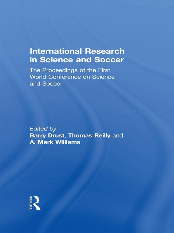 International Research in Science and Soccer (Paperback) book cover