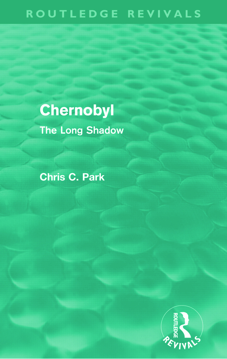 Chernobyl (Routledge Revivals): The Long Shadow, 1st Edition (Paperback) book cover